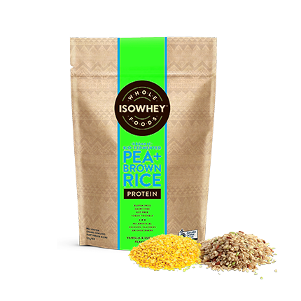 how to make sprouted brown rice protein powder